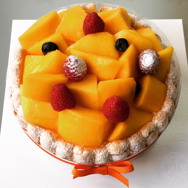 #mangocake #surprise from one of our students